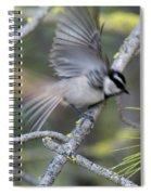 Bird In Action 2 Spiral Notebook