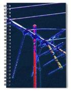 Bird Kite At Midnight Spiral Notebook