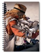 Bird Man Spiral Notebook
