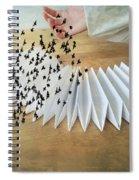 Bird Migration 2 Spiral Notebook