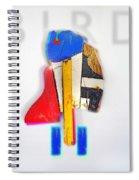 Bird Moderne Spiral Notebook