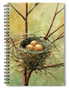 Bird Nest Spiral Notebook