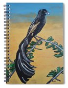 Bird Of Beauty, Ngiculela Spiral Notebook