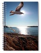Bird Of Life Spiral Notebook