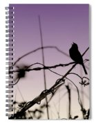 Bird Sings Spiral Notebook