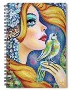 Bird Song Spiral Notebook