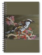 Bird White Eye Spiral Notebook