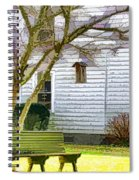 Birdhouse 6 Spiral Notebook