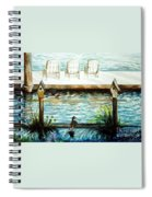 Birdhouse Haven Spiral Notebook