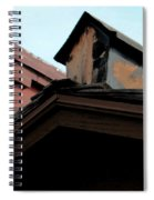 Birdhouse On Top Of House Spiral Notebook