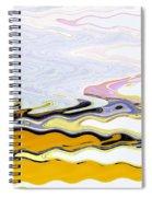 Birds And Beach Spiral Notebook
