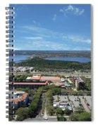 Birds Eye View Orlando Florida Spiral Notebook