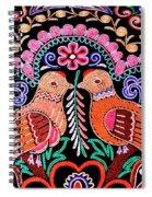 Birds In Love Spiral Notebook