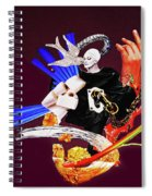 Bird's Kiss Spiral Notebook