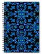 Birds Of Paradise Abstract Spiral Notebook