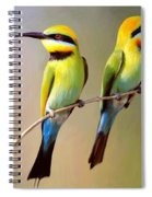 Birds On A Branch Spiral Notebook