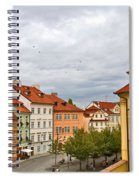 Birds Over Prague Spiral Notebook