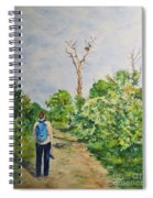 Birdwatching On Honeymoon Island Spiral Notebook