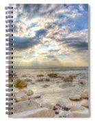 Birling Gap Angel Light Spiral Notebook
