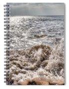 Birling Gap Waves Spiral Notebook