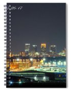 Birmingham Airport ,skyline Spiral Notebook