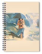 Birth Of Air And Water Spiral Notebook