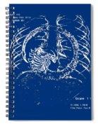 Birth Of Alien Spiral Notebook
