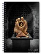 Birth Of Jesus Spiral Notebook