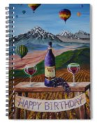 Birthday Balloons Spiral Notebook