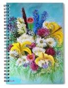 Birthday Bouquet Spiral Notebook