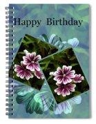 Birthday Card Spiral Notebook