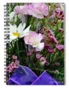 Birthday Flowers Spiral Notebook