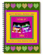 Birthday Girl's Birthday Wishes Spiral Notebook