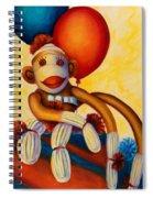 Birthday Made Of Sockies Spiral Notebook