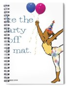 Party Pose 2 Spiral Notebook