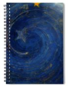 Birthed In Stars Spiral Notebook