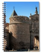 Bisagra Gate Toledo Spain Spiral Notebook