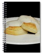 Biscuits And Gravy Spiral Notebook