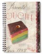 Biscuits Gouche Patisserie Spiral Notebook