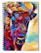 Bison 2 Spiral Notebook