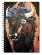 Bison At Dusk Spiral Notebook
