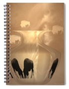 Bison Spiral Notebook