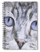Bisous Spiral Notebook