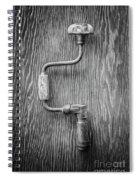 Bit Brace II Bw Spiral Notebook