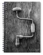 Bit Brace R Bw Spiral Notebook
