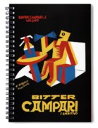 Bitter Campari - Aperitivo - Vintage Beer Advertising Poster Spiral Notebook
