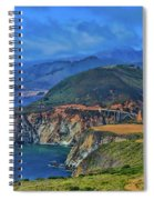 Bixby Bridge 1 Spiral Notebook