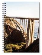 Bixby Bridge Spiral Notebook