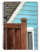 Black Alley Cat Spiral Notebook
