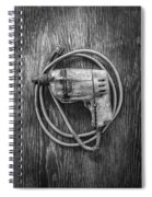 Black And Decker Drill Spiral Notebook